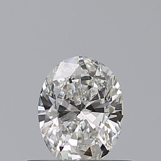 0.41 Carat Oval Loose Diamond, G, VS2, Excellent, GIA Certified