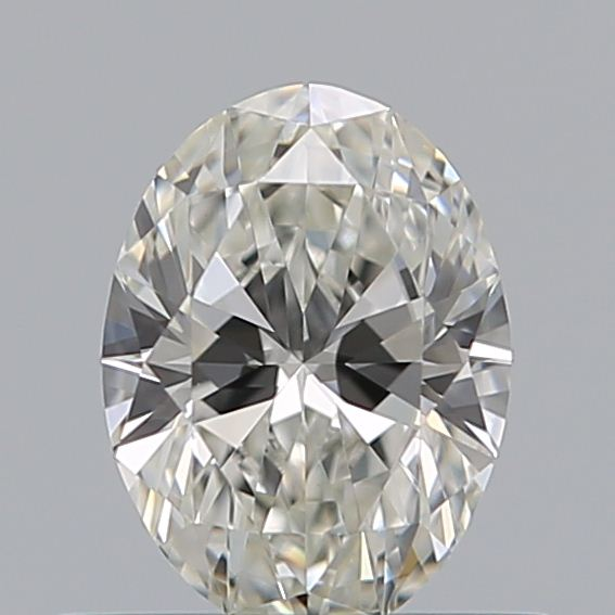 0.43 Carat Oval Loose Diamond, H, VS1, Super Ideal, GIA Certified | Thumbnail