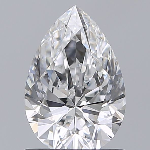 1.00 Carat Pear Loose Diamond, D, VS2, Super Ideal, GIA Certified