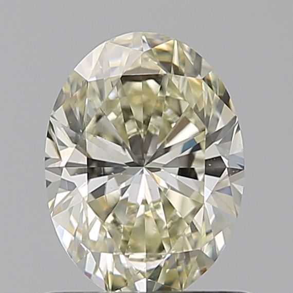 0.73 Carat Oval Loose Diamond, N, SI1, Super Ideal, GIA Certified