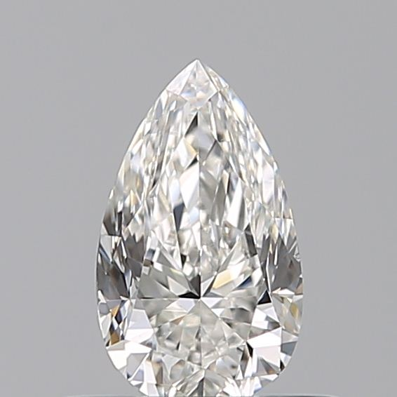 0.40 Carat Pear Loose Diamond, G, VS2, Excellent, GIA Certified