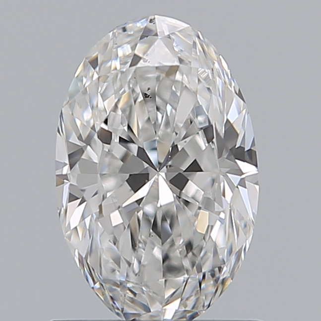 0.76 Carat Oval Loose Diamond, E, SI1, Super Ideal, GIA Certified