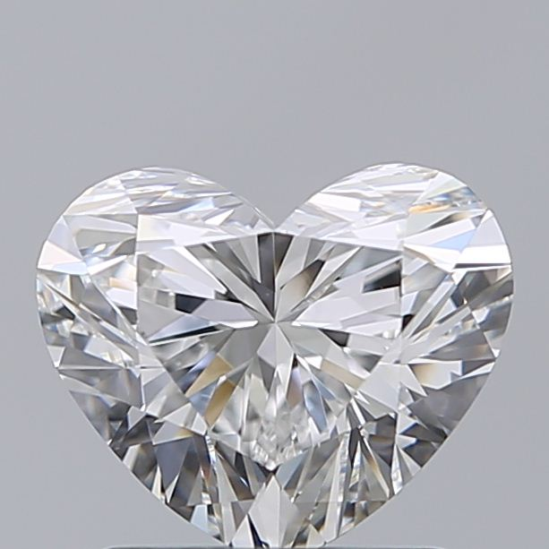 1.21 Carat Heart Loose Diamond, E, IF, Super Ideal, GIA Certified | Thumbnail