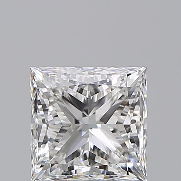 1.00 Carat Princess Loose Diamond, G, VS2, Super Ideal, GIA Certified | Thumbnail