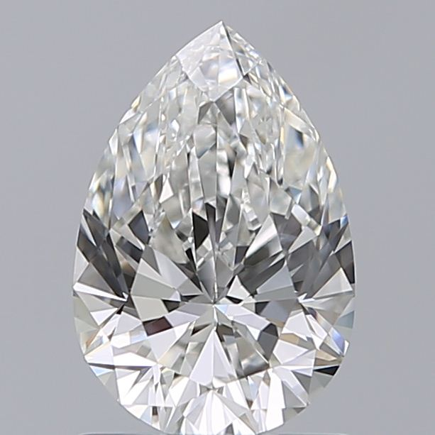 1.00 Carat Pear Loose Diamond, G, SI1, Super Ideal, GIA Certified