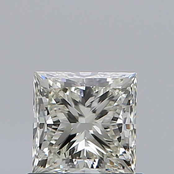 0.74 Carat Princess Loose Diamond, L, VS2, Super Ideal, GIA Certified