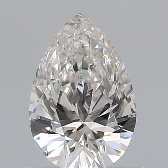 0.50 Carat Pear Loose Diamond, H, VS1, Excellent, GIA Certified