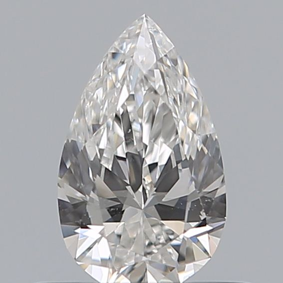 0.38 Carat Pear Loose Diamond, E, VS1, Excellent, GIA Certified