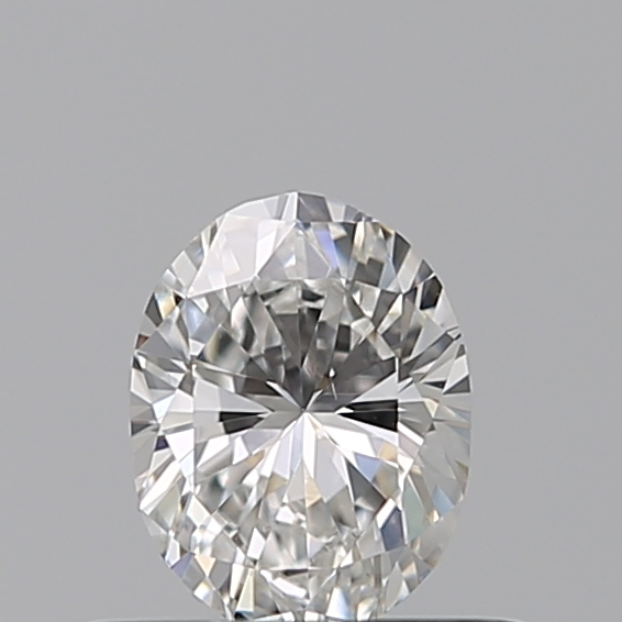 0.35 Carat Oval Loose Diamond, F, VS1, Excellent, GIA Certified