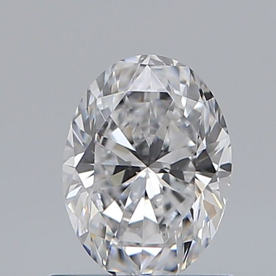 0.70 Carat Oval Loose Diamond, D, VS1, Super Ideal, GIA Certified | Thumbnail