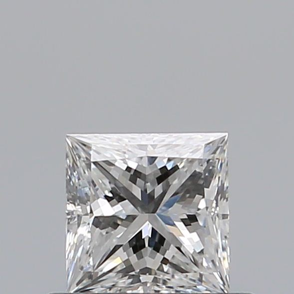0.42 Carat Princess Loose Diamond, F, VVS2, Super Ideal, GIA Certified | Thumbnail