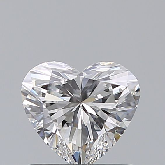 0.71 Carat Heart Loose Diamond, E, VS1, Super Ideal, GIA Certified