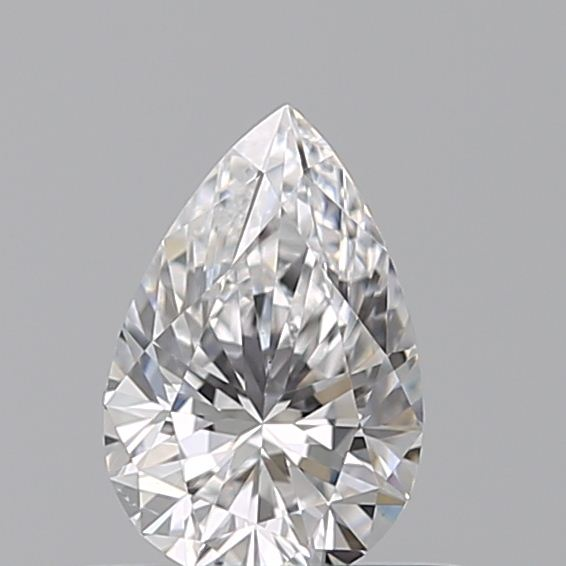0.41 Carat Pear Loose Diamond, D, SI1, Super Ideal, GIA Certified