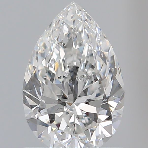 0.80 Carat Pear Loose Diamond, F, SI1, Super Ideal, GIA Certified | Thumbnail
