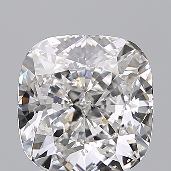 1.92 Carat Cushion Loose Diamond, F, SI2, Super Ideal, GIA Certified