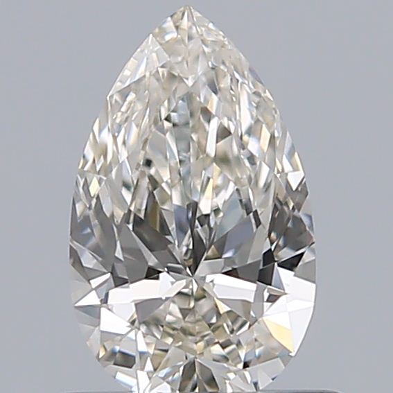 0.56 Carat Pear Loose Diamond, L, VS1, Super Ideal, GIA Certified