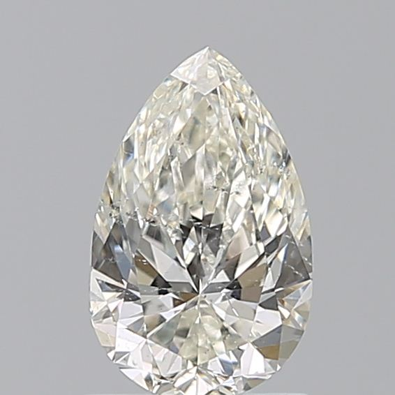 0.96 Carat Pear Loose Diamond, J, SI2, Super Ideal, GIA Certified