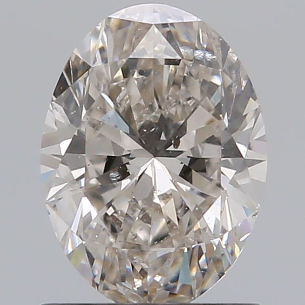 0.80 Carat Oval Loose Diamond, I, SI2, Super Ideal, GIA Certified
