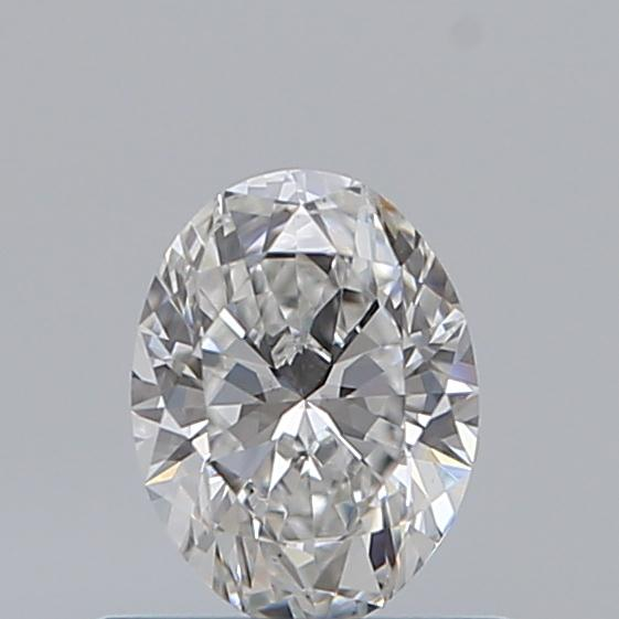 0.50 Carat Oval Loose Diamond, E, VS2, Ideal, GIA Certified