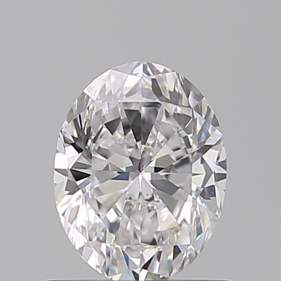 0.72 Carat Oval Loose Diamond, D, VS1, Excellent, GIA Certified