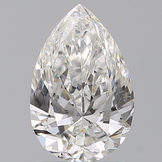 1.50 Carat Pear Loose Diamond, G, SI1, Ideal, GIA Certified | Thumbnail