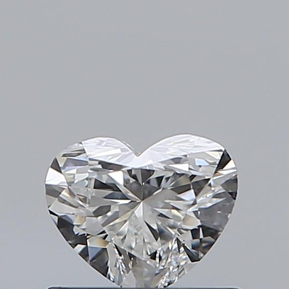 0.47 Carat Heart Loose Diamond, E, VVS1, Super Ideal, GIA Certified