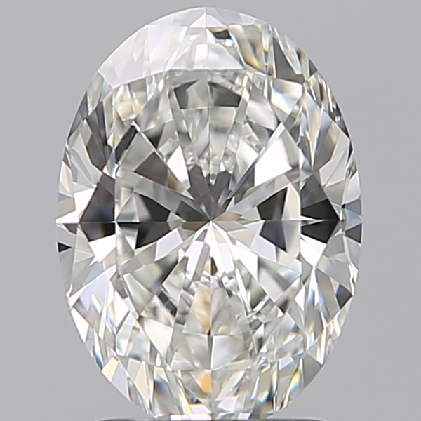 2.01 Carat Oval Loose Diamond, G, IF, Super Ideal, GIA Certified