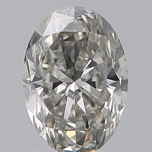 0.72 Carat Oval Loose Diamond, I, VS2, Excellent, GIA Certified
