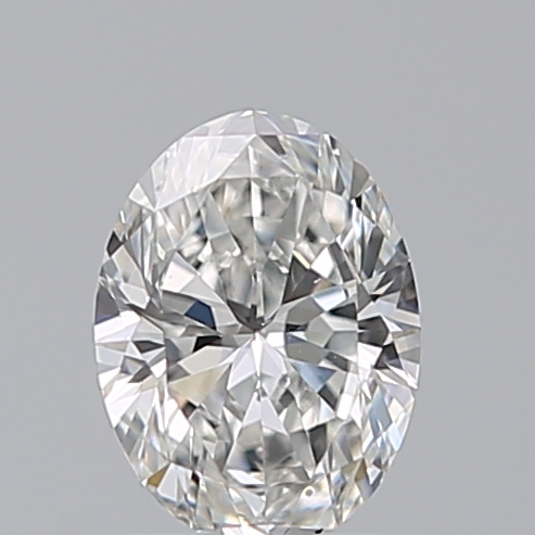 0.40 Carat Oval Loose Diamond, F, VS1, Excellent, GIA Certified