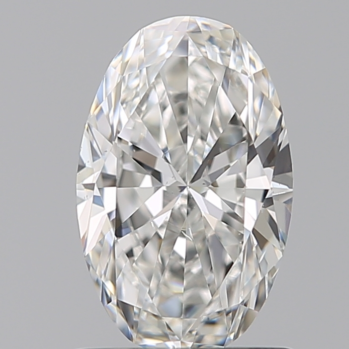 0.90 Carat Oval Loose Diamond, G, VS2, Ideal, GIA Certified | Thumbnail