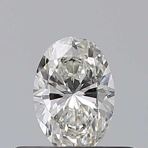 0.30 Carat Oval Loose Diamond, I, VS2, Ideal, GIA Certified