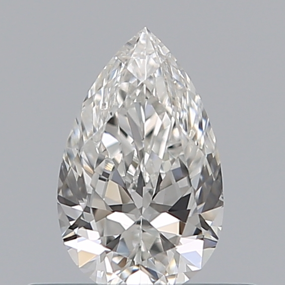 0.36 Carat Pear Loose Diamond, F, SI1, Excellent, GIA Certified