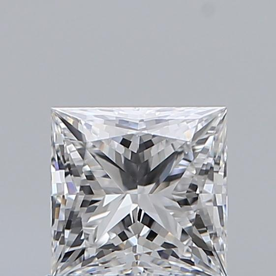 0.70 Carat Princess Loose Diamond, D, IF, Super Ideal, GIA Certified