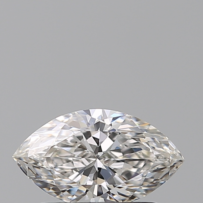 0.51 Carat Marquise Loose Diamond, G, VVS1, Ideal, GIA Certified