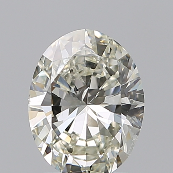 1.20 Carat Oval Loose Diamond, K, SI2, Excellent, GIA Certified | Thumbnail