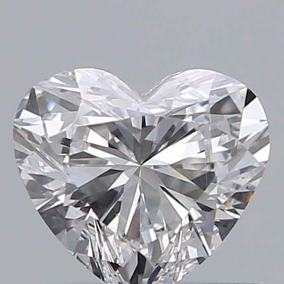 0.50 Carat Heart Loose Diamond, E, VS2, Ideal, GIA Certified