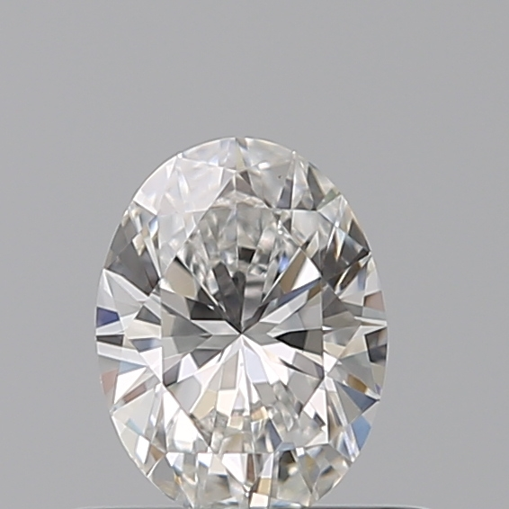 0.40 Carat Oval Loose Diamond, F, VS1, Ideal, GIA Certified