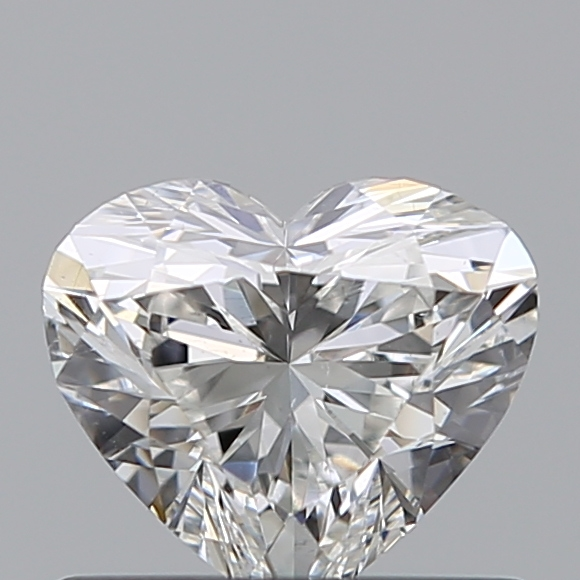 0.52 Carat Heart Loose Diamond, G, SI1, Ideal, GIA Certified
