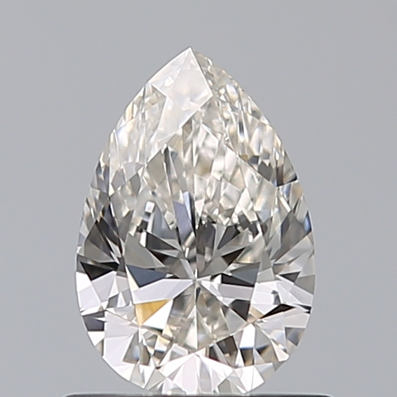 0.60 Carat Pear Loose Diamond, I, VVS2, Super Ideal, GIA Certified