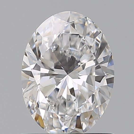 0.70 Carat Oval Loose Diamond, D, SI1, Super Ideal, GIA Certified | Thumbnail