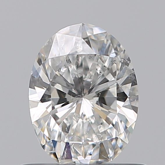 0.50 Carat Oval Loose Diamond, E, SI2, Super Ideal, GIA Certified