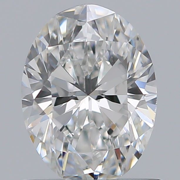 0.73 Carat Oval Loose Diamond, F, VS2, Super Ideal, GIA Certified