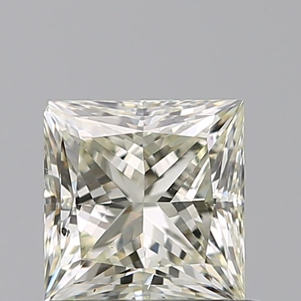 0.70 Carat Princess Loose Diamond, N, SI1, Ideal, GIA Certified
