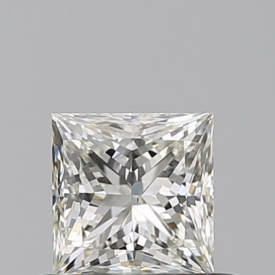 0.50 Carat Princess Loose Diamond, J, VS2, Ideal, GIA Certified