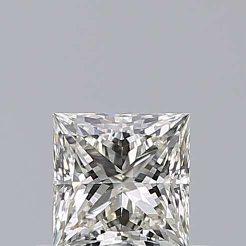 0.43 Carat Princess Loose Diamond, J, VS1, Super Ideal, GIA Certified