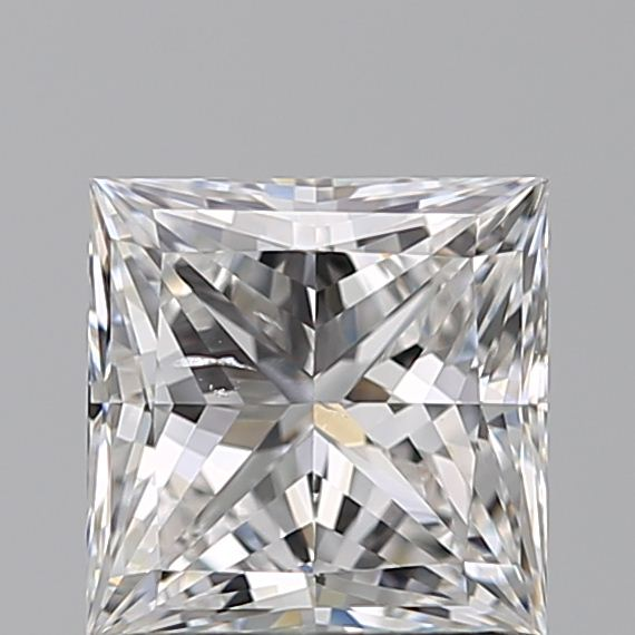 0.93 Carat Princess Loose Diamond, E, SI1, Super Ideal, GIA Certified