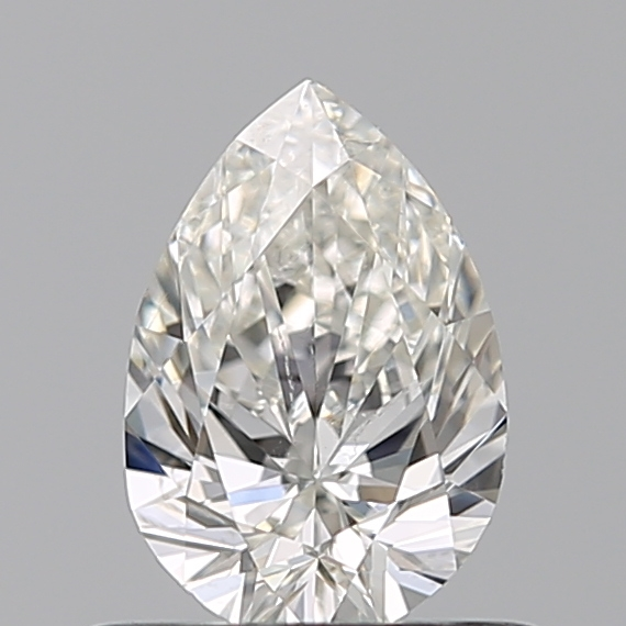 0.50 Carat Pear Loose Diamond, H, SI2, Excellent, GIA Certified