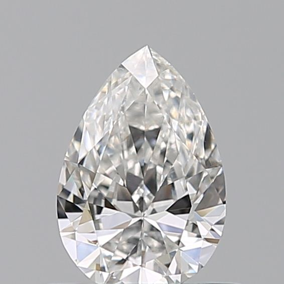 0.42 Carat Pear Loose Diamond, F, SI1, Ideal, GIA Certified | Thumbnail