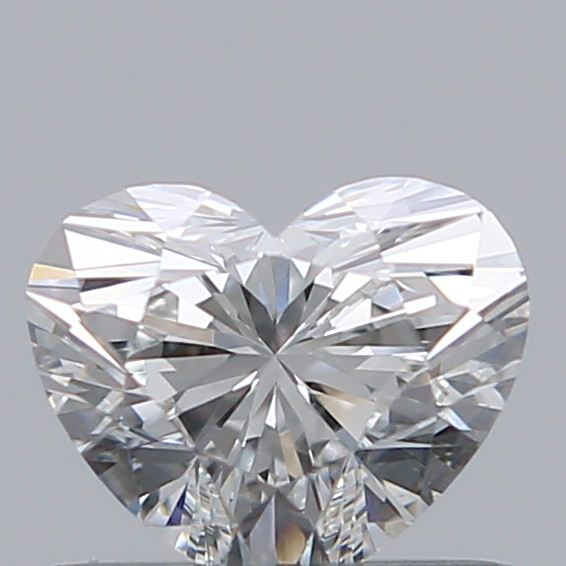 0.53 Carat Heart Loose Diamond, F, VS2, Super Ideal, GIA Certified