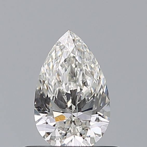 0.50 Carat Pear Loose Diamond, H, SI1, Super Ideal, GIA Certified